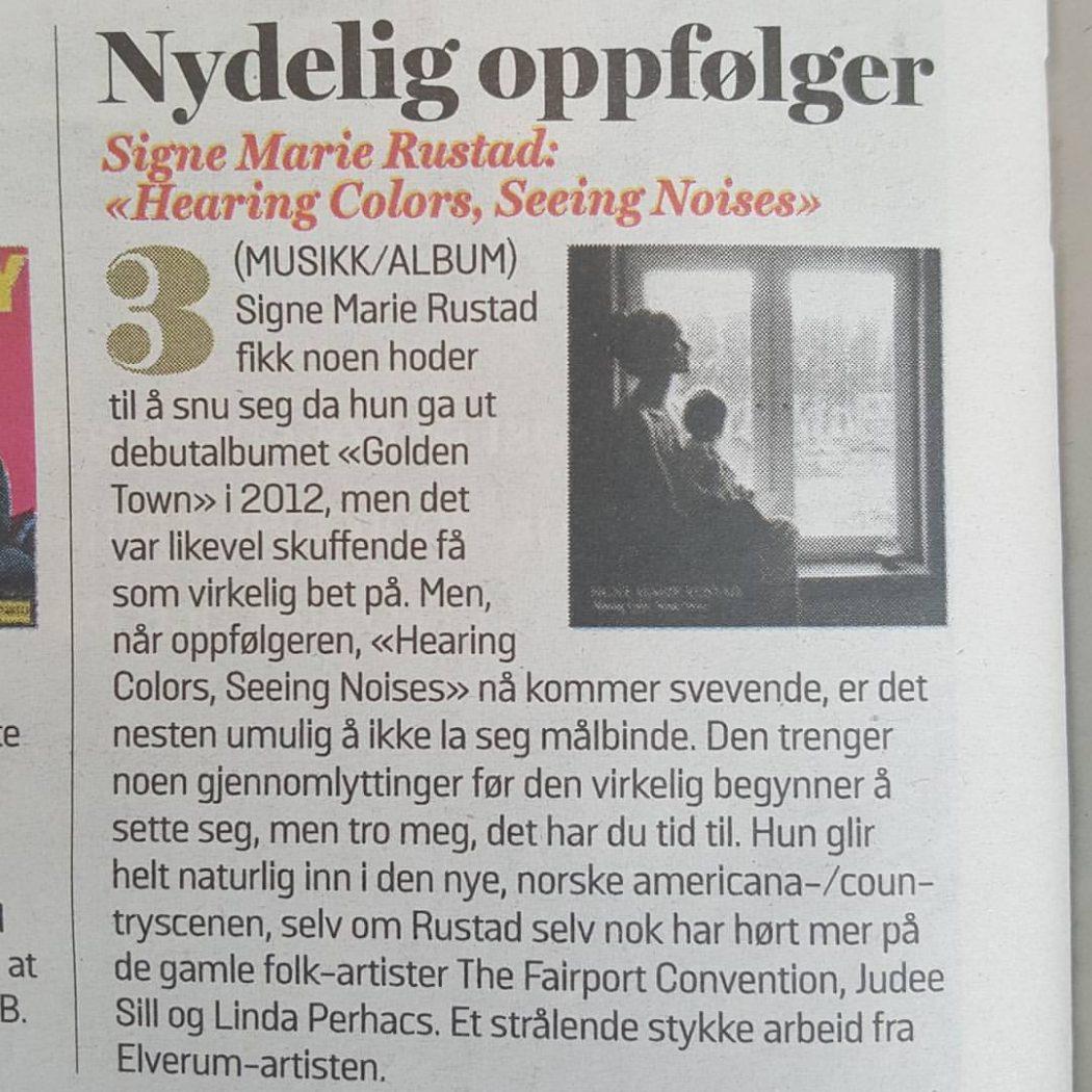 Signe Marie Rustad VG